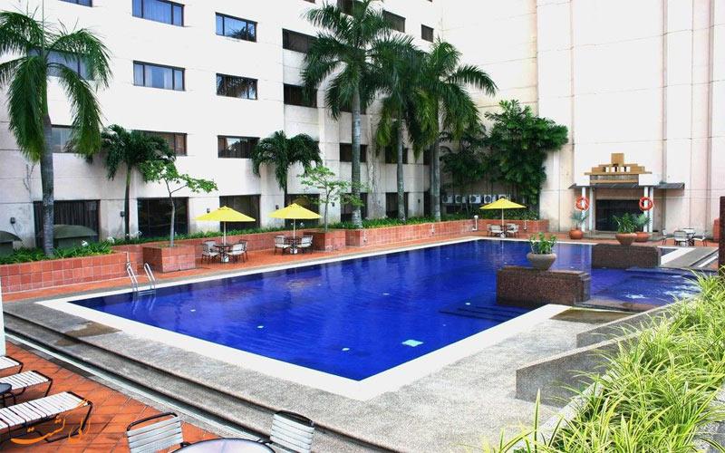 امکانات تفریحی هتل گرند سیزنز کوالالامپور- استخر