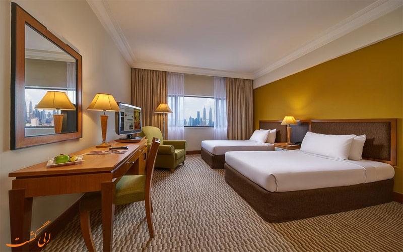 انواع اتاق های هتل گرند سیزنز کوالالامپور