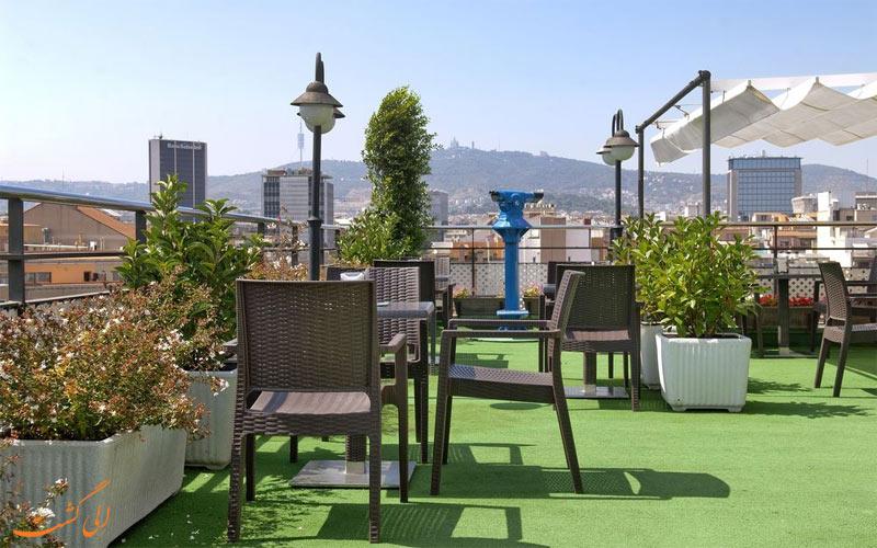امکانات تفریحی هتل اچ سی سی ریجنت بارسلونا - رستوران