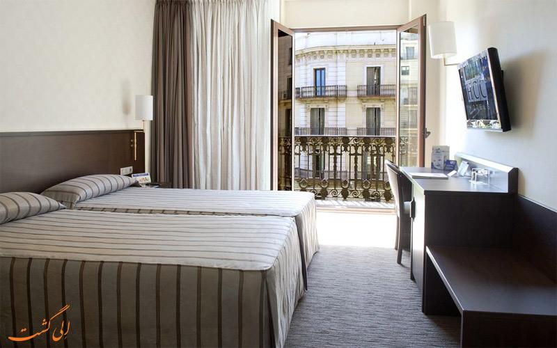 امکانات اتاق های هتل اچ سی سی ریجنت بارسلونا