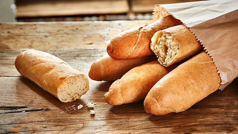 نان های معروف دنیا | باگت