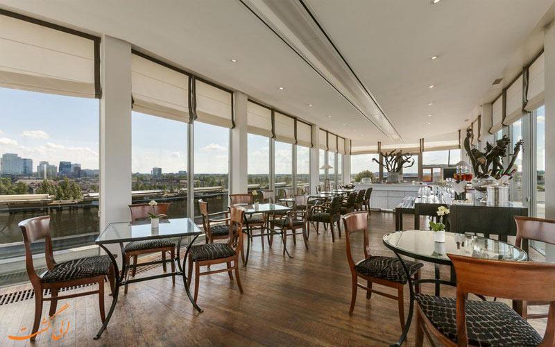 خدمات رفاهی هتل هیلتون آمستردام- یکی از رستوران ها