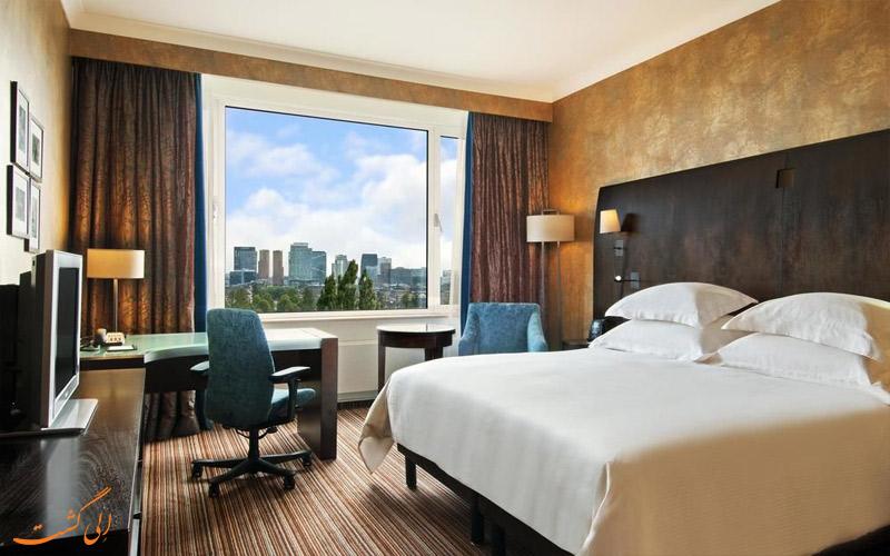 امکانات اتاق های هتل هیلتون آمستردام