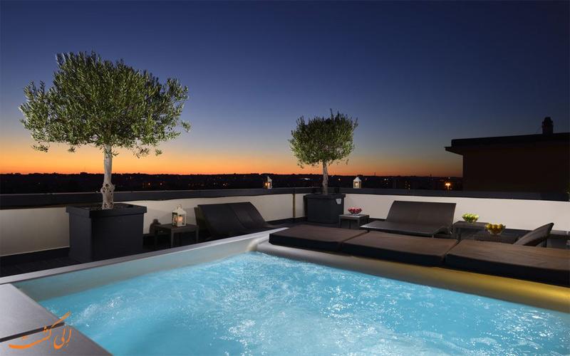 Hotel Pulitzer Roma- eligasht.com استخر