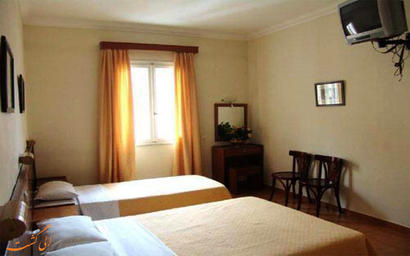 انواع اتاق های هتل ریو آتن