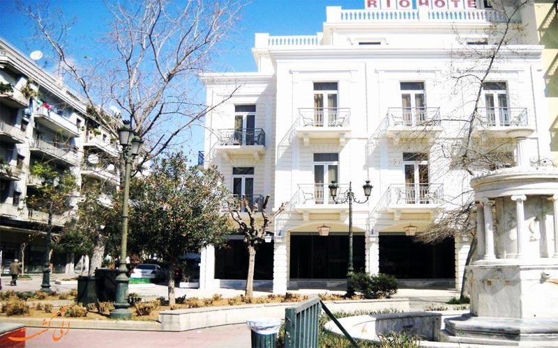 Hotel Rio Athens- eligasht.com باغ