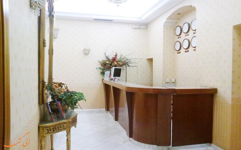 خدمات رفاهی هتل ریو آتن- پذیرش