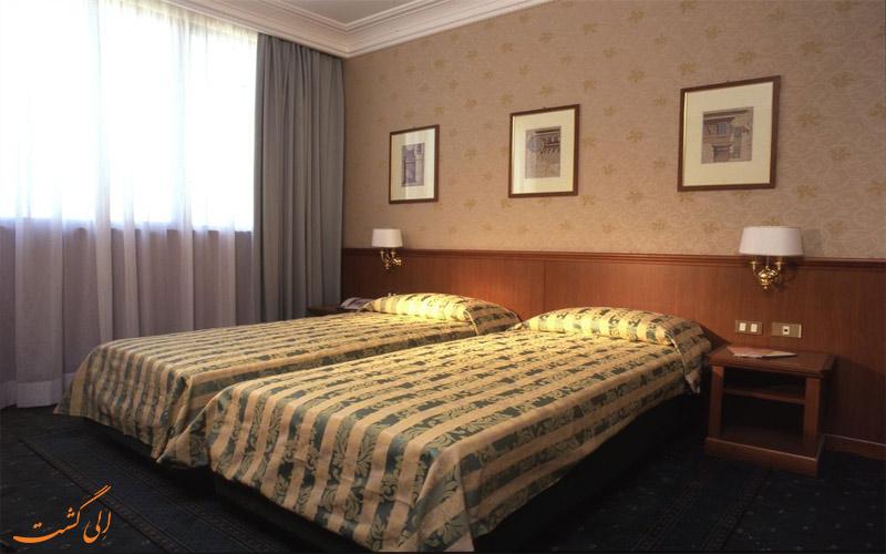 انواع اتاق های هتل آلدوبراندسچی رم