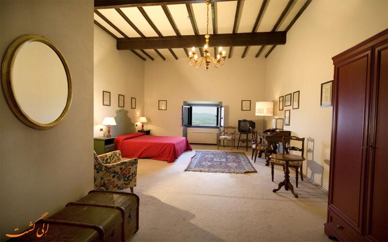 انواع اتاق های هتل ویلا پیتیانا فلورانس