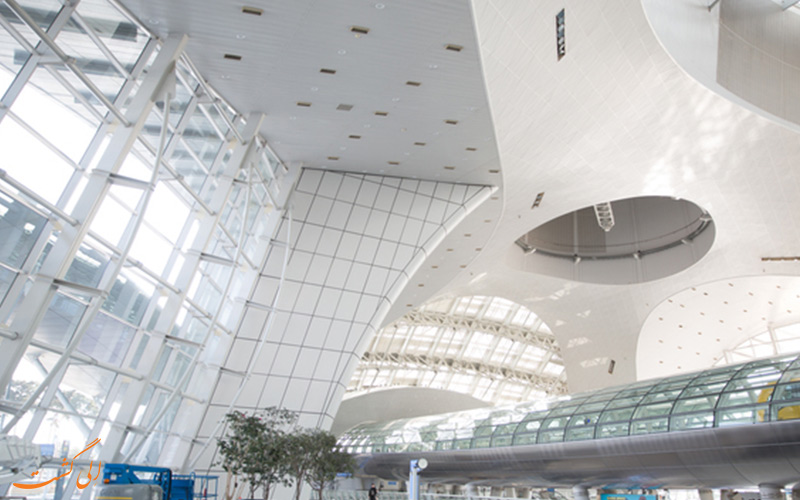 طراحی داخلی فرودگاه