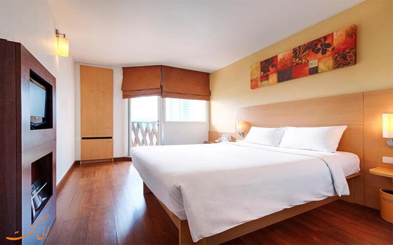 امکانات اتاق های هتل ایبیس پاتایا