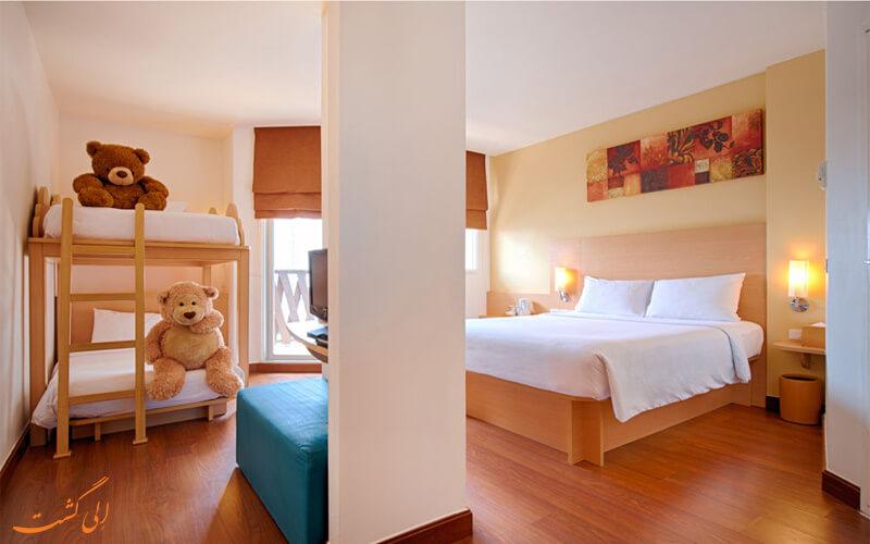 انواع اتاق های هتل ایبیس پاتایا