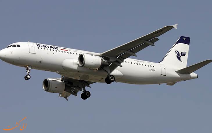 مسیرهای پروازی جدید ایران ایر