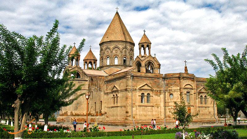 عکس های کلیسای اچیمیادزین در ارمنستان