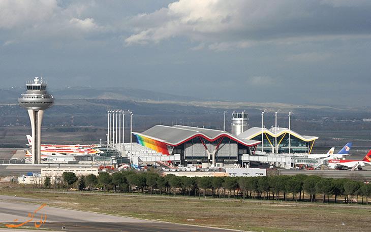 معرفی فرودگاه باراخاس مادرید در اسپانیا