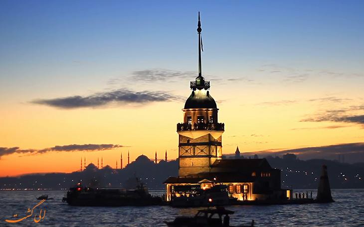 قلعه دختر دراستانبول