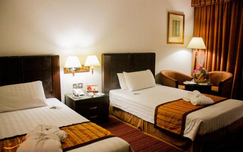 انواع اتاق های هتل میفر دبی