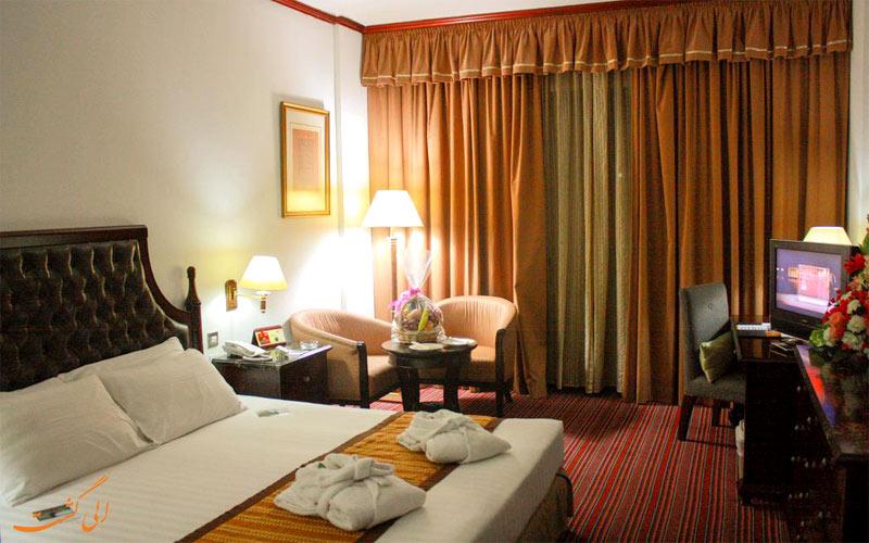 امکانات اتاق های هتل میفر دبی