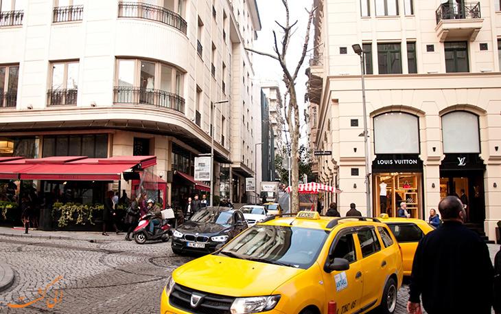 خیابان های شهر استانبول