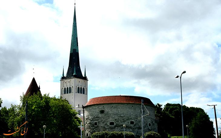 کلیسا تاریخی شهر تالین