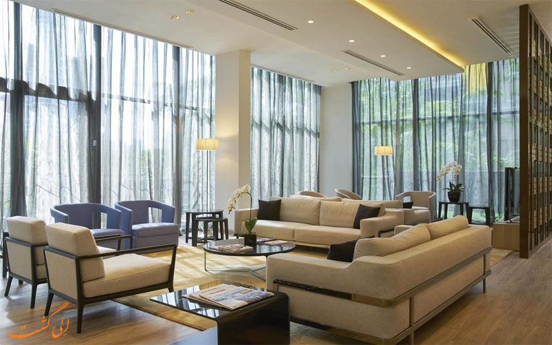 امکانات اتاق های هتل پن پاسیفیک سامرست سنگاپور
