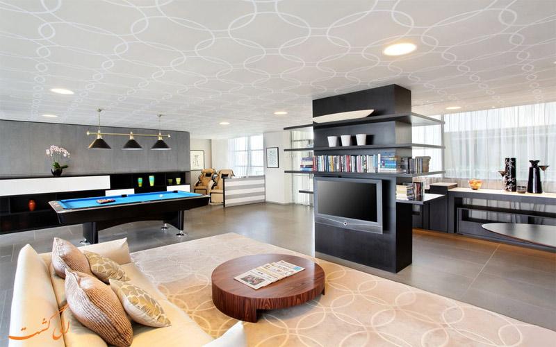 انواع اتاق های هتل پن پاسیفیک سامرست سنگاپور