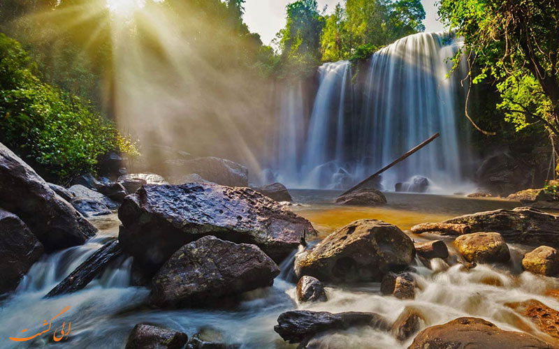 پارک ملی Phnom Kulen، کامبوج