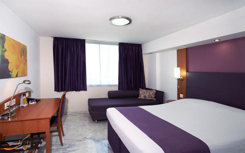 انواع اتاق در هتل کسپیا دهلی