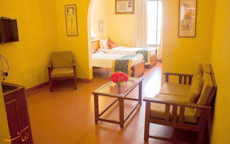 امکانات اتاق های هتل پراید سان ویلیج گوا