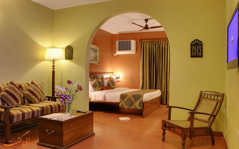 انواع اتاق های هتل پراید سان ویلیج گوا