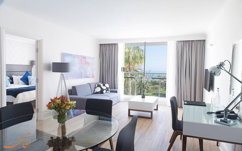 امکانات اتاق های هتل پرزیدنت کیپ تاون
