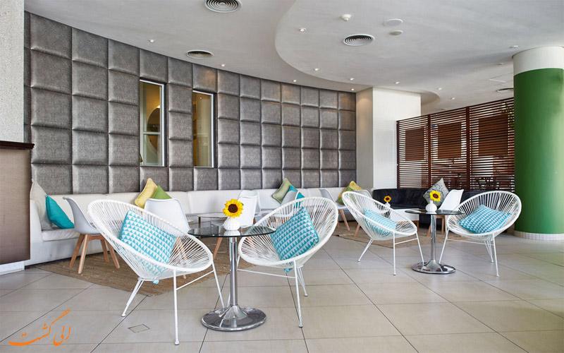 خدمات رفاهی هتل پرزیدنت کیپ تاون - لابی