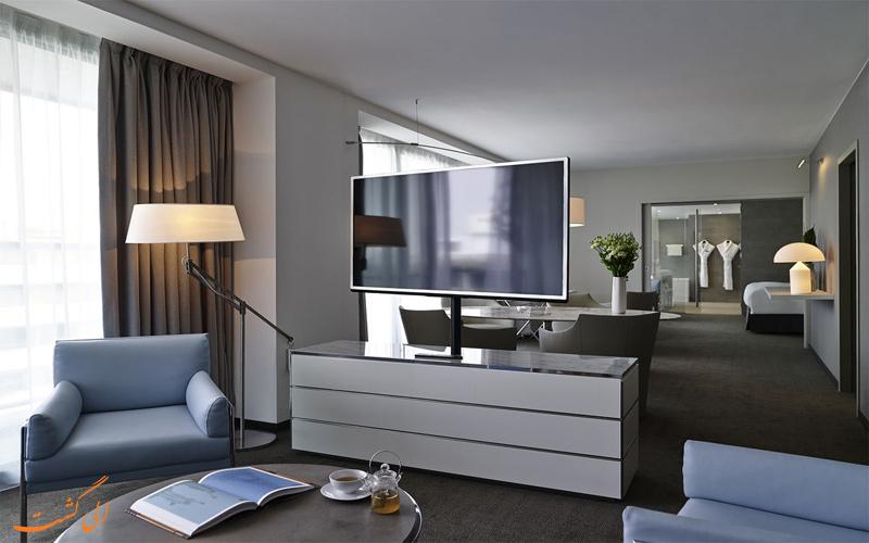 امکانات اتاق های هتل پولمن پاریس