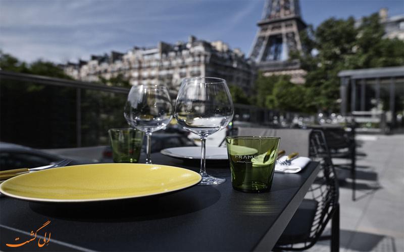 Pullman Paris Eiffel Tower Hotel- eligasht.com تراس آفتابگیر