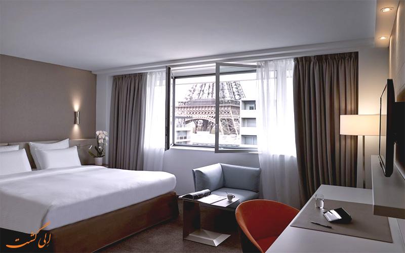 انواع اتاق های هتل پولمن پاریس