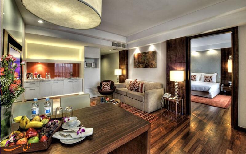 انواع اتاق های هتل سری پاسیفیک کوالالامپور