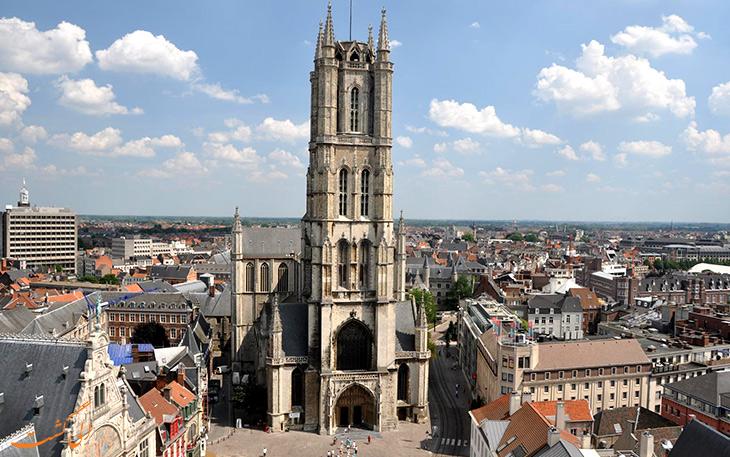 کلیسایی تاریخی در بلژیک