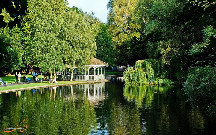 پارک سبز استفان گرین