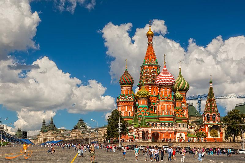 کلیسای جامع سنت باسیل مسکو