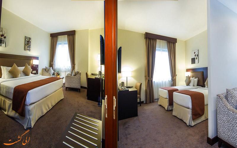 امکانات اتاق های هتل سامیت دبی