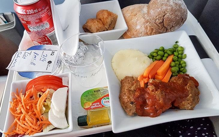غذای هواپیمایی سان اکسپرس