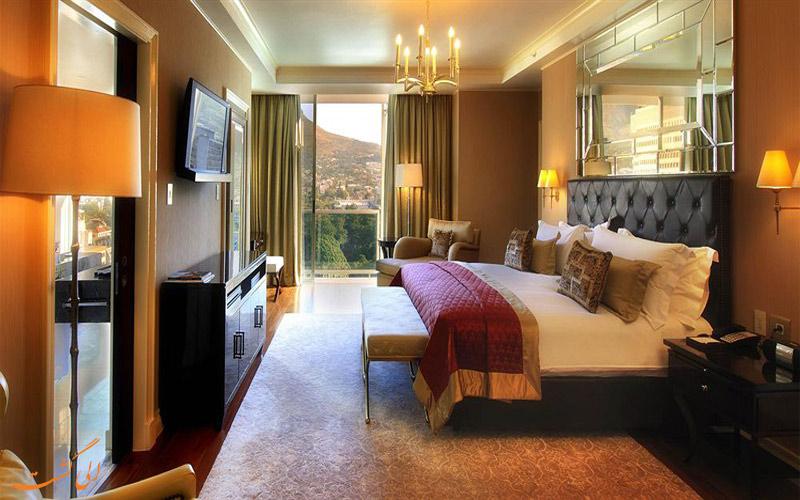 انواع اتاق های هتل تاج کیپ تاون