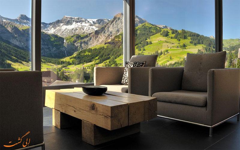 خدمات رفاهی هتل د کامبرین ادلبودن سوئیس - تابستان