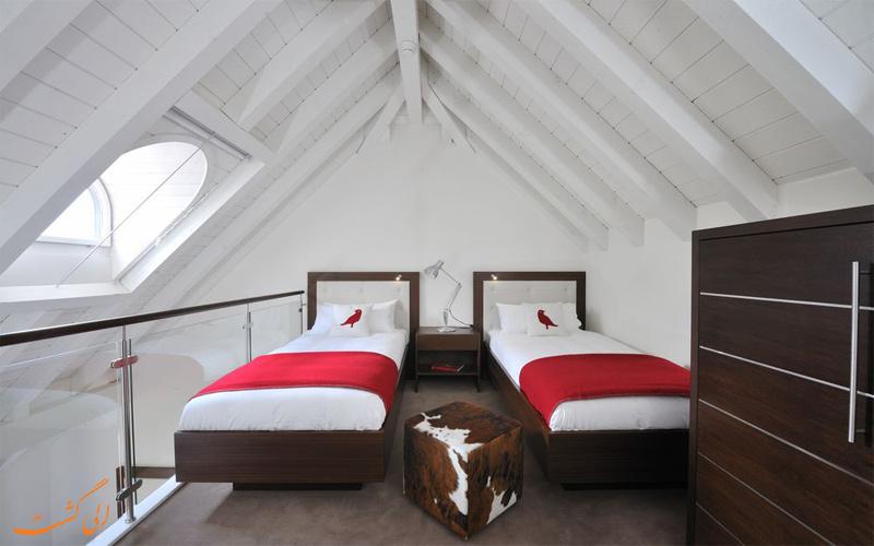 انواع اتاق های هتل د کامبرین ادلبودن سوئیس