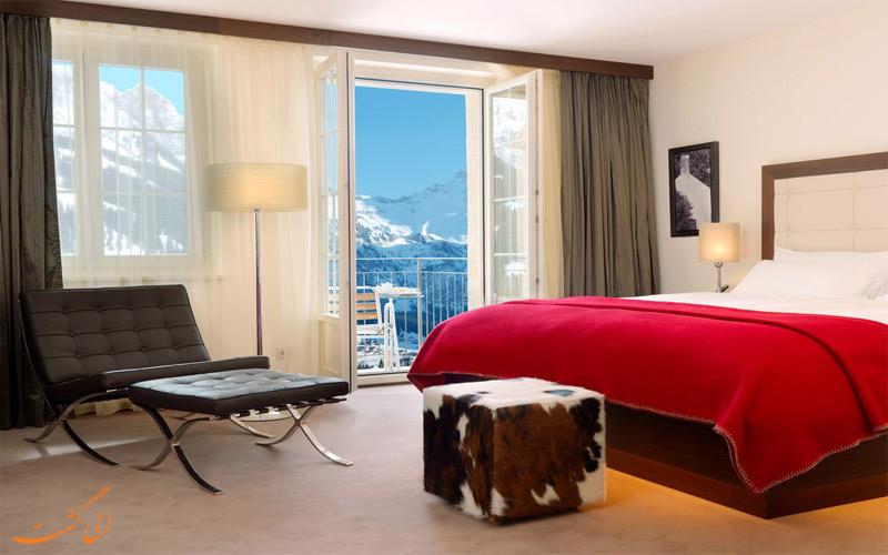 امکانات اتاق های هتل د کامبرین ادلبودن سوئیس