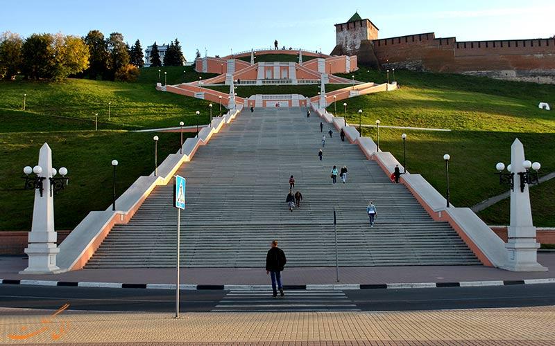 پلههای چکالوف