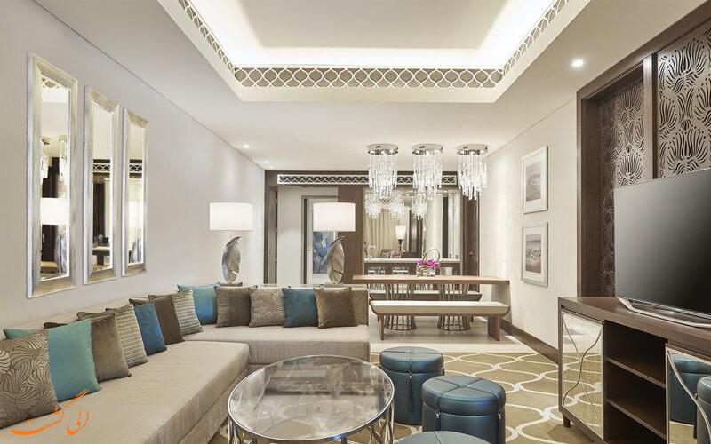 انواع اتاق های هتل وستین الحبتور سیتی دبی