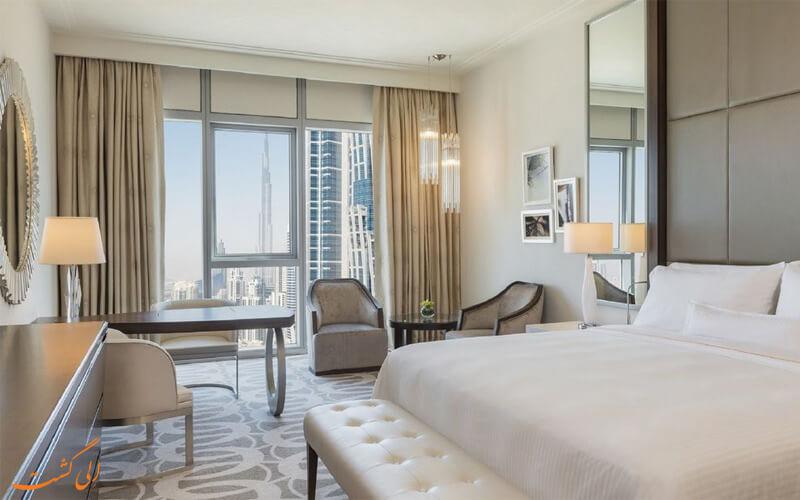 امکانات اتاق های هتل وستین الحبتور سیتی دبی