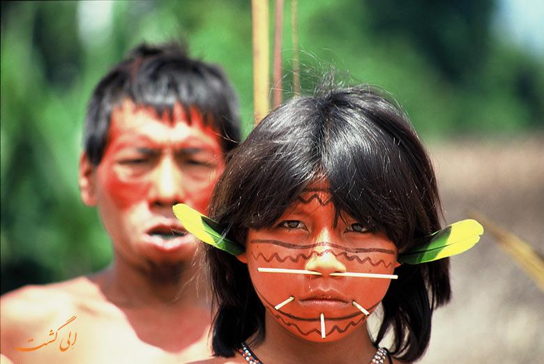 قبایل بومی | یانومامی