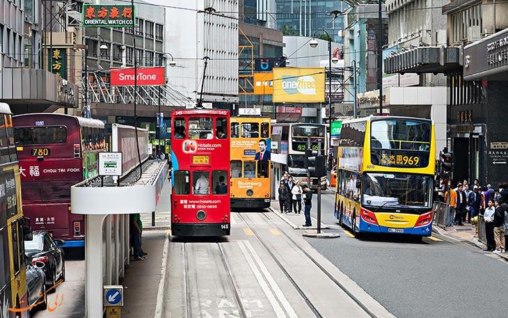 گزینه های حمل و نقل فرودگاه هنگ کنگ